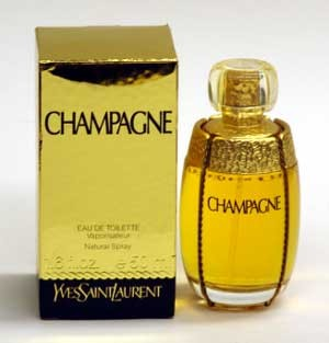 Champagne YSL Yves Saint Laurent 100ml/ 3.3oz EDT Spray Vintage Perfume 1993 Version