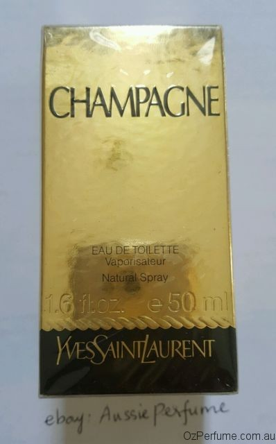 Champagne YSL 50ml EDT Spray by YVES SAINT LAURENT for Women Discontinued