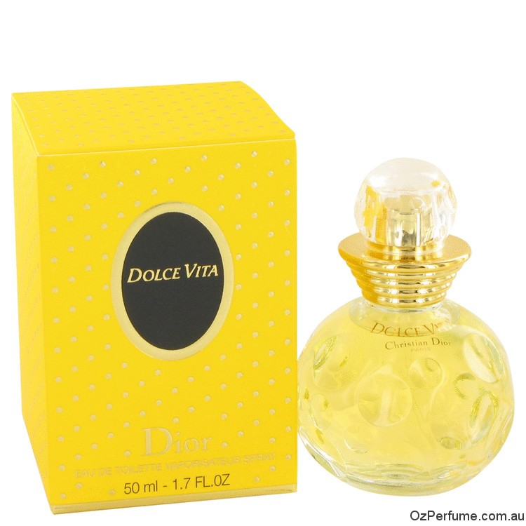Dolce Vita by Christian Dior 50ml EDT Spray Fragrance Perfume for Women