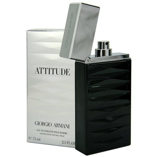 Perfume Spray Giorgio Fragrance Attitude By Armani Men Edt 75ml For XiuOZwklPT