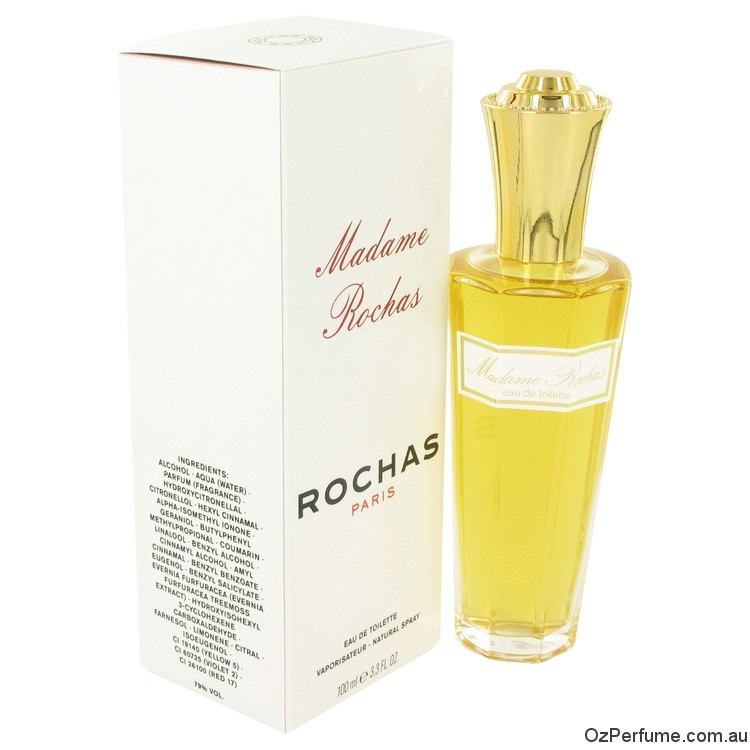 Madame Rochas by Rochas 100ml EDT Spray for Women
